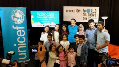 Photo of #Kidstakeover Malaysian media on World Children's Day