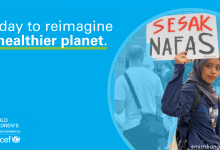 Photo of Reimagine a greener planet. Young people for Climate Action