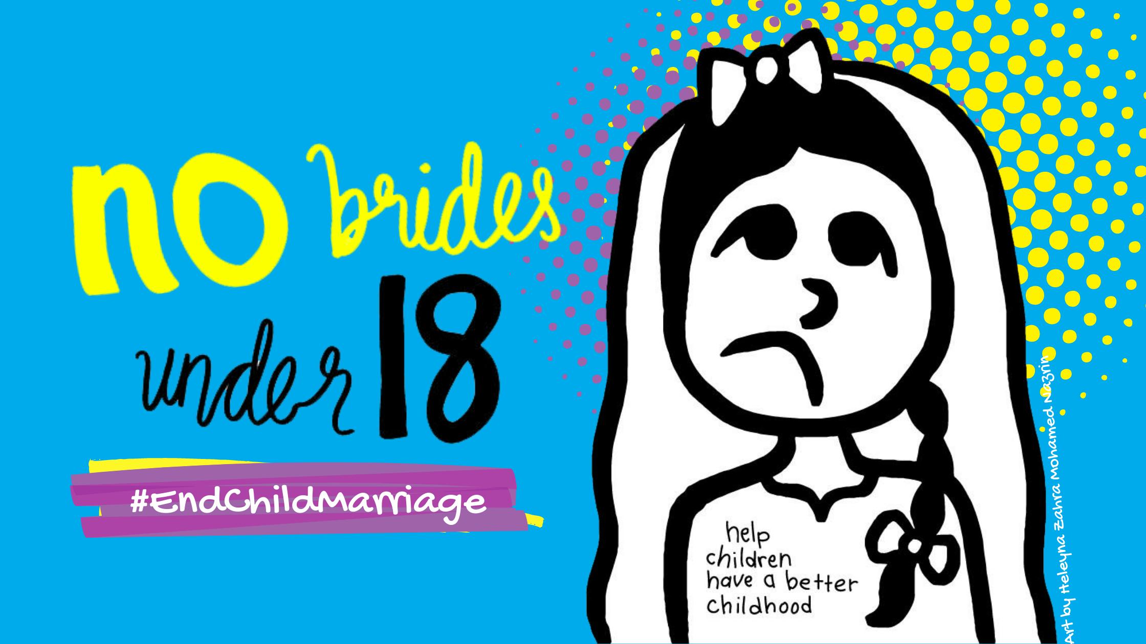 graphic of a child bride