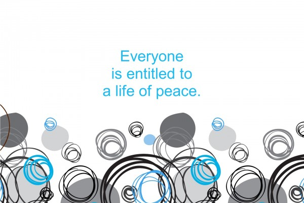 Peace …