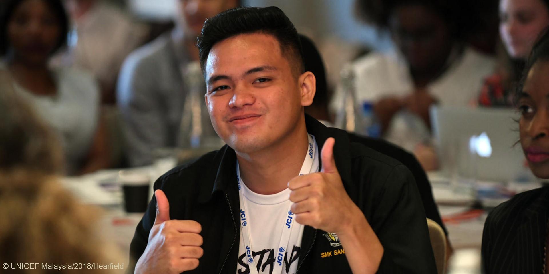 UNICEF Youth Advocate Muhd Saiful Ikhwan bin Musa