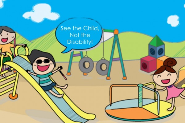 See the child, not the disability!